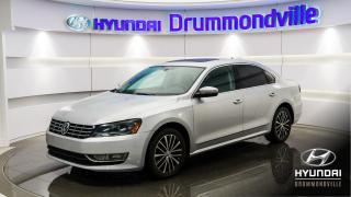Used 2015 Volkswagen Passat TDI COMFORT. + GARANTIE + CUIR + WOW !! for sale in Drummondville, QC