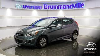 Used 2016 Hyundai Accent LE + GARANTIE + AUTOMATIQUE + A/C !! for sale in Drummondville, QC
