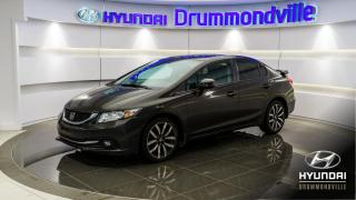 Used 2013 Honda Civic TOURING + NAVI + CAM. + WOW ! for sale in Drummondville, QC