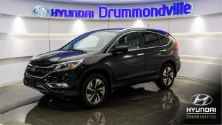 Used 2015 Honda CR-V TOURING + AWD + GARANTIE + CUIR + MAGS ! for sale in Drummondville, QC