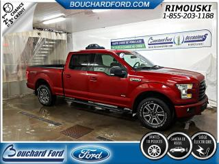Used 2015 Ford F-150 CREW 4X4 302A GROSSE ECRAN for sale in Rimouski, QC