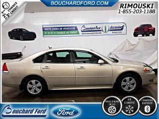 Used 2010 Chevrolet Impala Lt Bas Kilomètrage for sale in Rimouski, QC