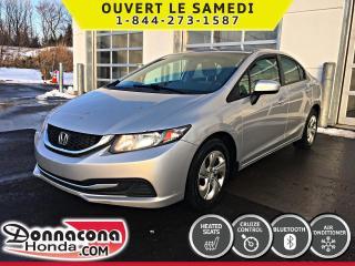 Used 2015 Honda Civic LX *GARANTIE GLOBALE 2020 OU 120 000 KM* for sale in Donnacona, QC