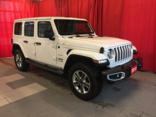 Used 2019 Jeep Wrangler Unlimited Sahara for sale in Listowel, ON
