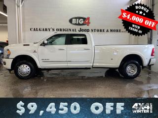 New 2019 RAM 3500 New Limited for sale in Calgary, AB