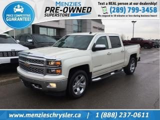 Used 2014 Chevrolet Silverado 1500 LTZ 4x4, Navi, Cam, Bluetooth, Clean Carfax for sale in Whitby, ON
