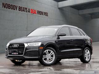 Used 2016 Audi Q3 Technik*Boseaudio*Parking Sensors*Pwrtailgate*Cam* for sale in Mississauga, ON