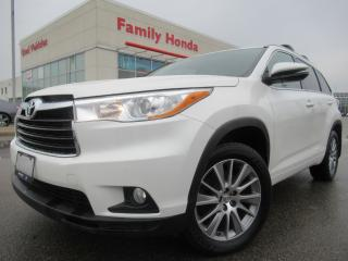 Used 2015 Toyota Highlander AWD XLE | ECO MODE | ROOF RACKS | for sale in Brampton, ON