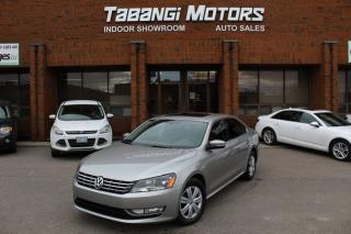 Used 2013 Volkswagen Passat HIGHLINE I NO ACCIDENTS I NAVIGATION I LEATHER I SUNROOF I for sale in Mississauga, ON
