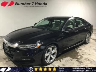 Used 2018 Honda Accord Touring| Loaded| Leather| Navi| for sale in Woodbridge, ON