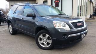 Used 2011 GMC Acadia SLE-1 FWD - 8 PASS! ACCIDENT FREE! for sale in Kitchener, ON