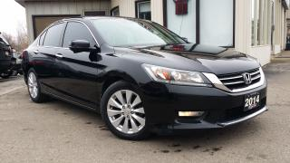 Used 2014 Honda Accord EX-L Sedan CVT -LEATHER! BACK-UP/BLIND-SPOT CAM! SUNROOF! for sale in Kitchener, ON
