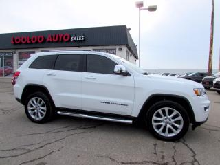 Used 2017 Jeep Grand Cherokee Limited 4WD NAVIGATION CAMERA CERTIFIED for sale in Milton, ON