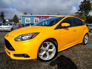 Used 2014 Ford Focus ST 6SPD Recaro Seats Heated Sunroof Bluetooth Certified for sale in Guelph, ON