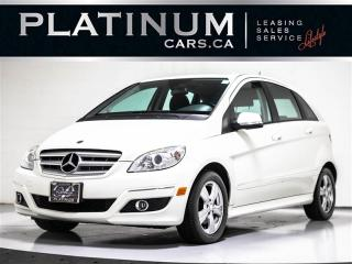 Used 2010 Mercedes-Benz B-Class B200, HEATED FRONT SEATS, RAIN SENSOR, CAN VEHICLE for sale in Toronto, ON