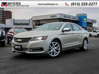 Used 2015 Chevrolet Impala LTZ  LTZ, REAR VISION CAM, REMOTE START, LEATHER, HEATED SEATS. 4 CYL for sale in Ottawa, ON