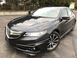 Used 2015 Acura TLX Elite AWD for sale in Cayuga, ON