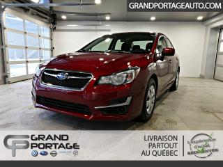 Used 2016 Subaru Impreza Berline 4 portes CVT 2,0i AWD for sale in Rivière-Du-Loup, QC