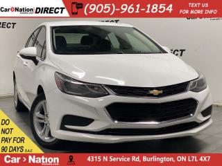 Used 2018 Chevrolet Cruze LT w-1SD| BACK UP CAMERA| HEATED SEATS| for sale in Burlington, ON