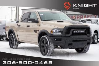 New 2019 RAM 1500 Classic Warlock Crew Cab | Heated Seats and Steering Wheel | Sunroof | Remote Start for sale in Swift Current, SK