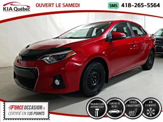 Used 2016 Toyota Corolla S* CAMERA DE RECUL* SIEGES CHAUFFANTS* for sale in Québec, QC