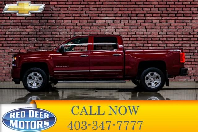 Used 2016 Chevrolet Silverado 1500 4x4 Crew Cab Ltz Z71 Leather Nav Bcam For Sale In Red Deer Alberta Carpages Ca