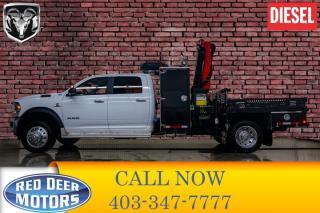 Used 2019 RAM 5500 4x4 Crew Cab SLT Diesel Picker BCam for sale in Red Deer, AB