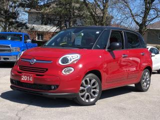 Used 2014 Fiat 500 L Pano Roof | Navi | Back up Cam | $68 weekly (oac) for sale in Stoney Creek, ON