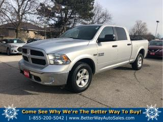 Used 2014 RAM 1500 Outdoorsman |4X4 |CREW CAB |HEMI | NO ACCIDENTS !! for sale in Stoney Creek, ON