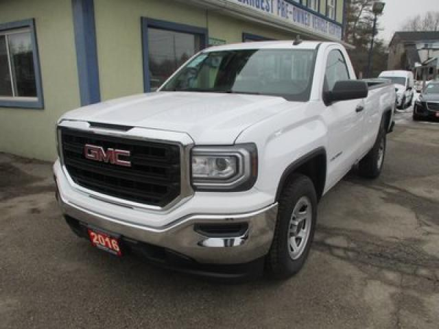 2016 GMC Sierra 1500 LIKE NEW SL MODEL 3 PASSENGER 4.3L - V6.. TWO-WHEEL DRIVE.. REGULAR CAB.. 8-FOOT BOX.. TOW SUPPORT.. BLUETOOTH SYSTEM..