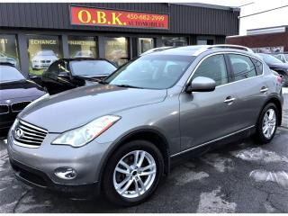 Used 2010 Infiniti EX35 Journey-AWD-TOIT OUVRANT-CAMERA RECUL-BLUETOOTH- for sale in Laval, QC