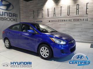 Used 2014 Hyundai Accent GL+A/C+BANCS CHAUFFANTS+BLUETOOTH+CRUISE for sale in Sherbrooke, QC