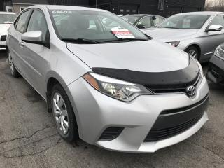 Used 2015 Toyota Corolla LE A/C CAMERA DE RECUL for sale in Île-Perrot, QC