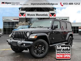 New 2020 Jeep Wrangler Unlimited Sahara Altitude  - $307 B/W for sale in Ottawa, ON