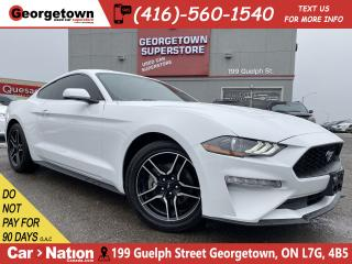 Used 2019 Ford Mustang EcoBoost Fastback |CLEAN CARFAX |TINTS|AUTO|BU CAM for sale in Georgetown, ON