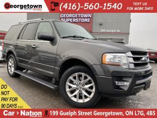 Used 2015 Ford Expedition Limited 4WD | LEATHER | NAVI | TOW PKG | B/U CAM for sale in Georgetown, ON