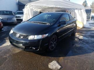 Used 2011 Honda Civic 2DR MAN SI for sale in Lemoyne, QC