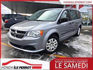 Used 2015 Dodge Grand Caravan Canada Value Package JAMAIS ACCIDENTÉ , RARE , 8 PNEU for sale in Île-Perrot, QC