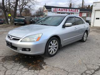Used 2006 Honda Accord EX-L/Automatic/Leather/Roof/AS IS Special for sale in Scarborough, ON
