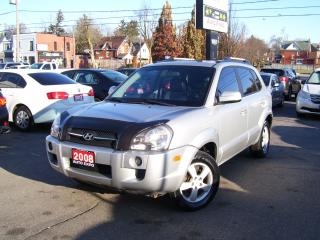 Used 2008 Hyundai Tucson GLS,CERTIFIED,LEATHER,TINTED,ALLOYS,SUNROOF,LOADED for sale in Kitchener, ON