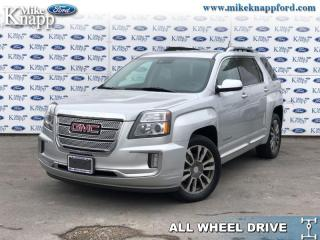 Used 2016 GMC Terrain Denali  - Navigation -  Sunroof for sale in Welland, ON