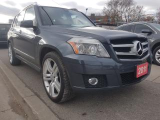 Used 2011 Mercedes-Benz GLK-Class GLK 350-MINT-132K ONLY-NAVI-BK UP CAM-LEATHER-ROOF for sale in Scarborough, ON