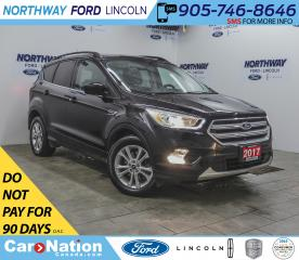 Used 2017 Ford Escape SE | AWD | NAV | PWR HTD SEATS | BACKUP CAM | for sale in Brantford, ON