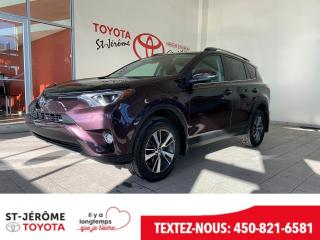 Used 2017 Toyota RAV4 * AWD * XLE * TOIT OUVRANT * MAGS * for sale in Mirabel, QC