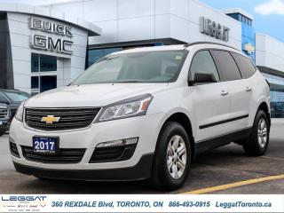 Used 2017 Chevrolet Traverse LS  - Touch Screen -  SiriusXM for sale in Etobicoke, ON