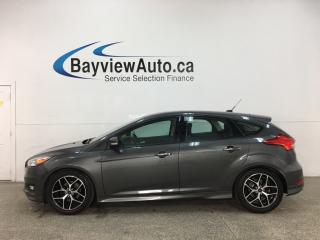 Used 2015 Ford Focus - AUTO! A/C! BIG WHEELS! HTD SEATS! LEASE RETURN! for sale in Belleville, ON
