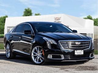 Used 2019 Cadillac XTS Black Leather for sale in Markham, ON