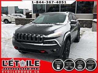 Used 2015 Jeep Cherokee TRAILHAWK V6 4X4, DEMARREUR A DISTANCE, for sale in Jonquière, QC