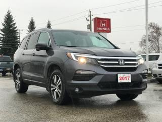 Used 2017 Honda Pilot EX-L Navi Sold Pending Customer Pick Up...Bluetooth, Back Up Camera, Heated Seats and more! for sale in Waterloo, ON