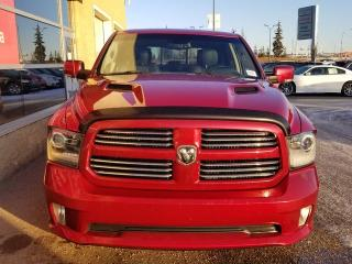 Used 2013 RAM 1500 Sport 4x4 Crew Cab / Sunroof / NAV / Heated Front Seats & Steering Wheel for sale in Edmonton, AB